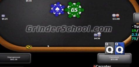 Playing QQ Vs A 4-Betting Regular Is A PITA