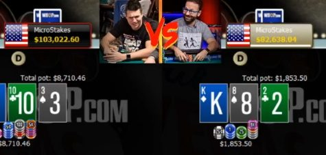 Doug Polk Retakes Lead After $205k Win On Day 9; An Estimated 50 Sessions Remain