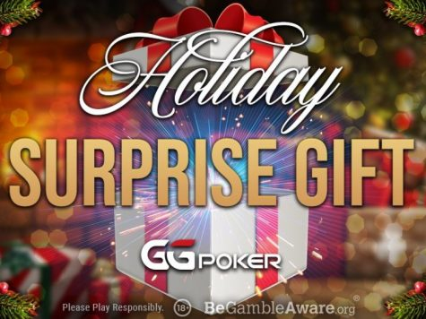 GGPoker Holiday Surprise Gifts