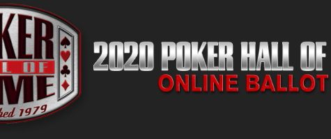 You, Yes YOU!, Can Submit Your Nomination For The 2020 Poker Hall Of Fame Ballot