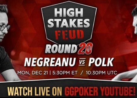 WATCH NOW: Polk vs. Negreanu Round #20