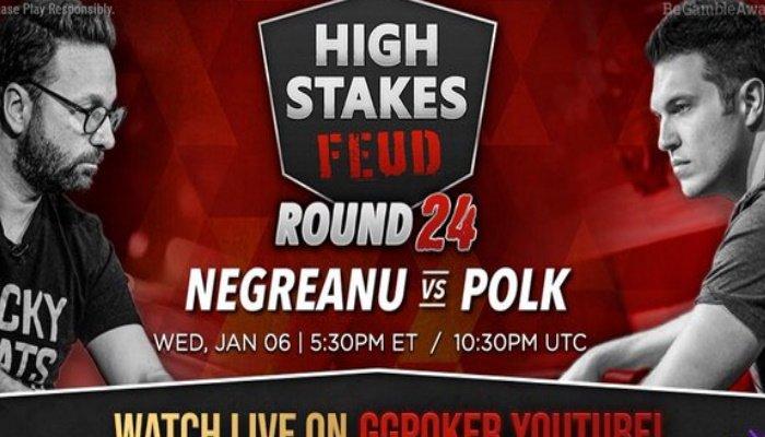 Negreanu vs Polk Day 24
