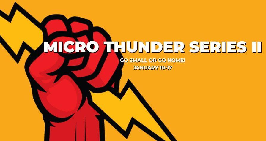 Global Poker Micro Series Thunder 2