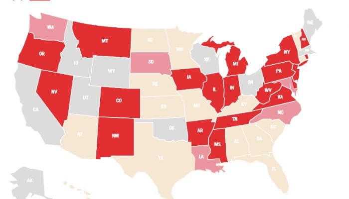 Sports Legality In All 50 States
