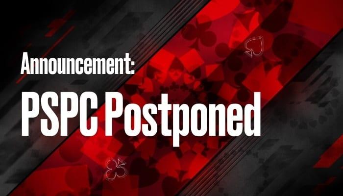 PSPC 2021 postponed