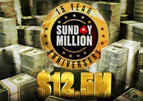 Pick Now- PokerStars 15th Anniversary Sunday Million