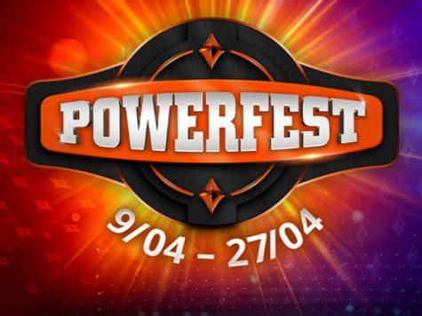 partypoker Powerfest April 2021