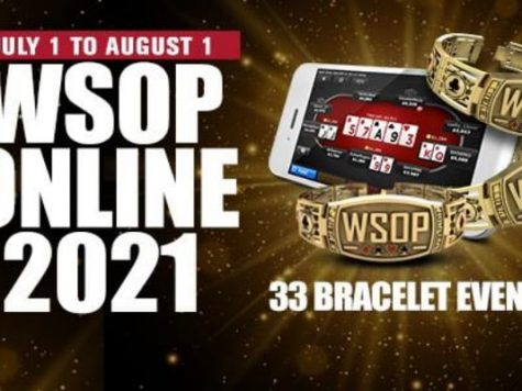 WSOP Online 2021 schedule