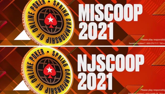 PokerStars MISCOOP NJSCOOP 2021