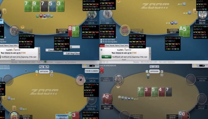 carroters zoom poker strategy against regulars