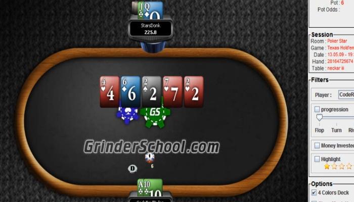 codered heads-up poker training
